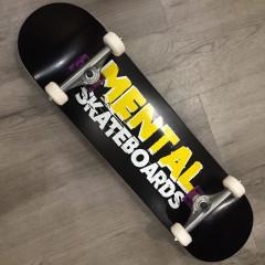 "Скейтборд Mental Skateboards Black 8.25"""